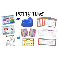ULTIMATE POTTY TRAINING SYSTEM-RAINBOW/BOY