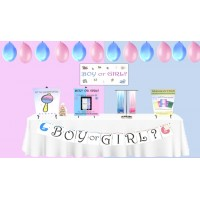 ULTIMATE GENDER REVEAL FULL PARTY PACKAGE! (15, 35, or 50 Player)